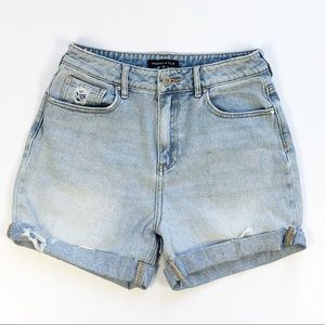 Kendall & Kylie Distressed Cutoff Shorts size 27